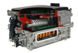 Power control unit for hybrid automobiles