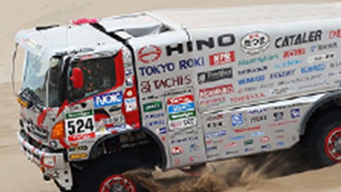 DAKAR RALLY トラック部門 排気量10リッター未満クラス