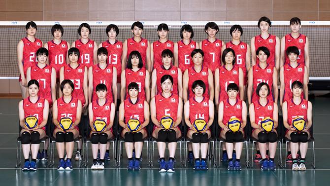 バレーボール日本代表チーム