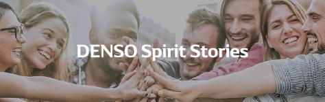 DENSO spirit stories banner
